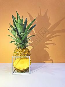 创意菠萝拍摄图片