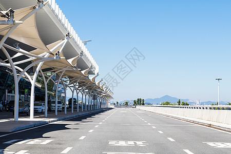 机场客运侯客处图片