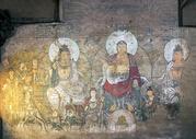 壁画古庙壁画图片