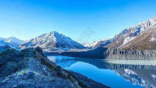 新西兰冰川图片