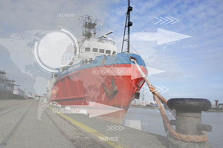 码头金融图片