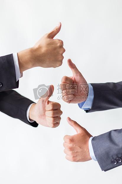 商务团队堆手图片