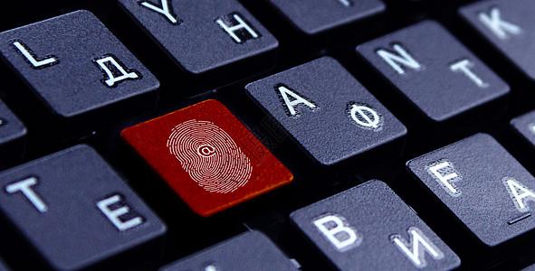 指纹键盘图片