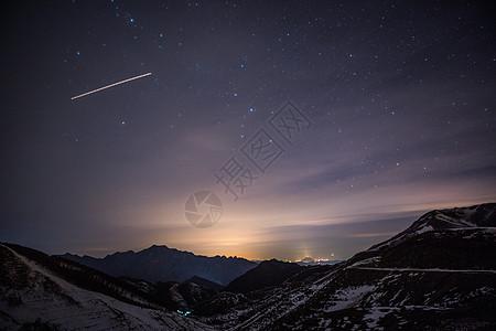 银河星轨满天星图片