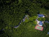 航拍莫干山民宿休闲避暑之地图片