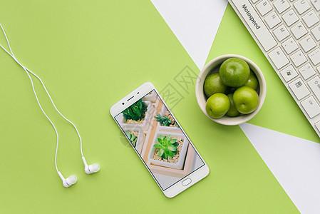 文艺绿色桌面图片