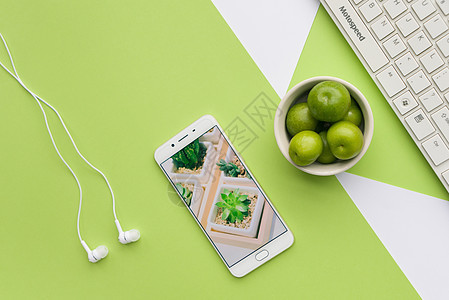 文艺绿色桌面picture