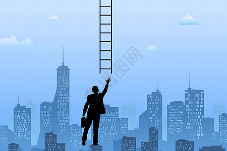 走向成功的阶梯图片
