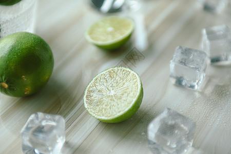 夏日清凉柠檬图片