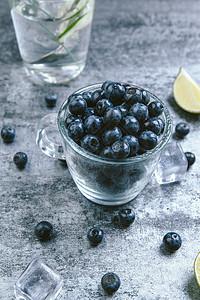 小暑蓝莓图片