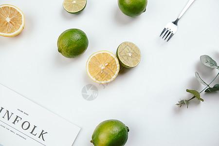 水果柠檬静物拍摄图片