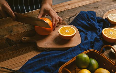 水果料理 切水果图片