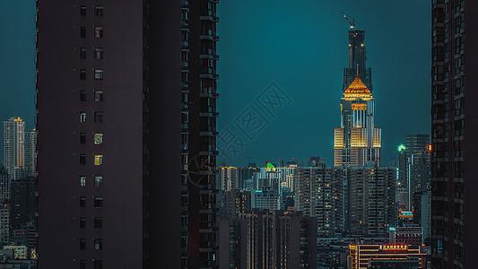 湖北武汉佳丽广场夜景图片