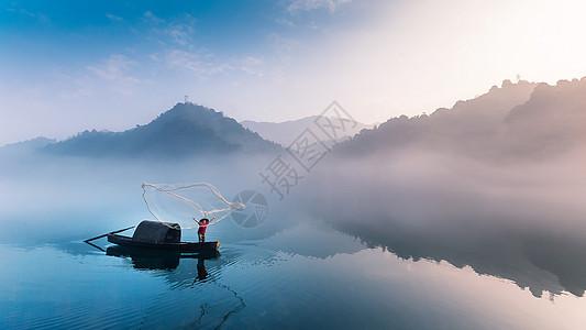 湖南郴州小东江日出图片