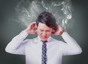 职场压力图片