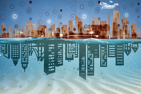 矢量科技城市图片