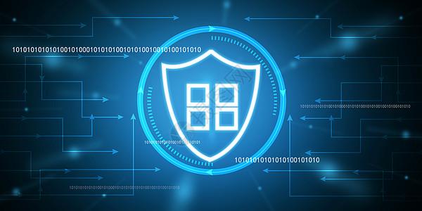 互联网安全盾牌图片