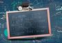 教育学习背景培训招生黑板背景图片