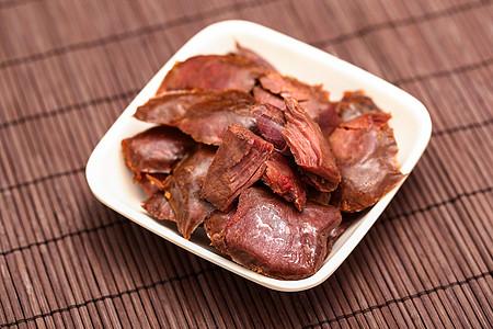 鹿肉 肉脯图片