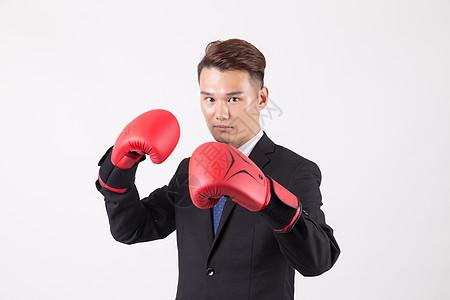 商业男性人像拳击图片