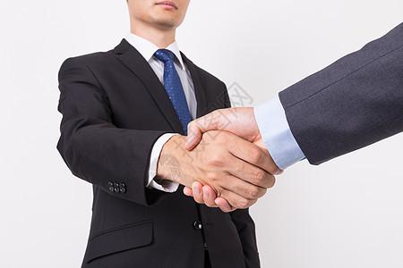 商业人像握手合作图片