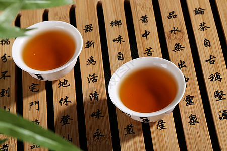 沉香茶叶图片