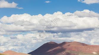 青藏线上的云图片