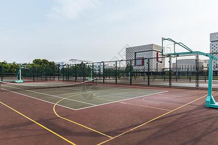 上海视觉艺术学院篮球场图片