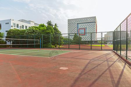 上海视觉艺术学院排球场图片