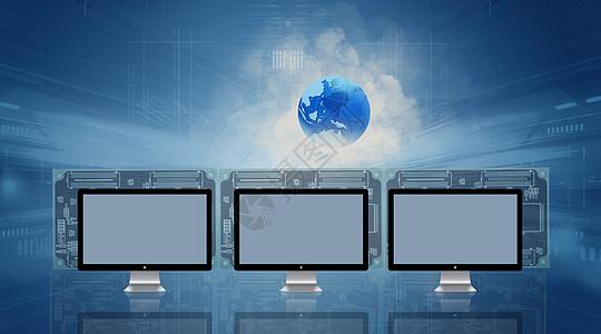 电脑数据展示图片