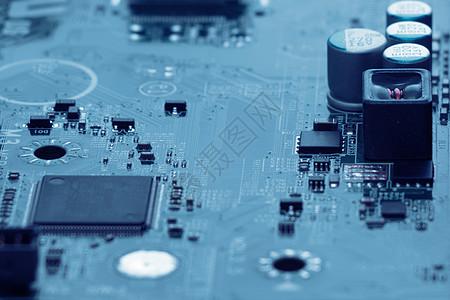 芯片电子电路板科技合成地图图片