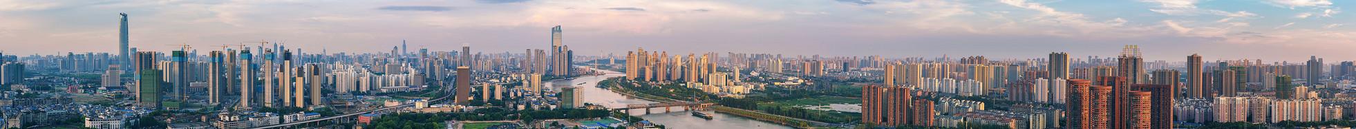 武汉城市风光全景接片图片