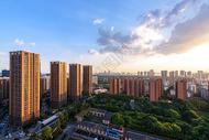 武汉高楼城市风光图片