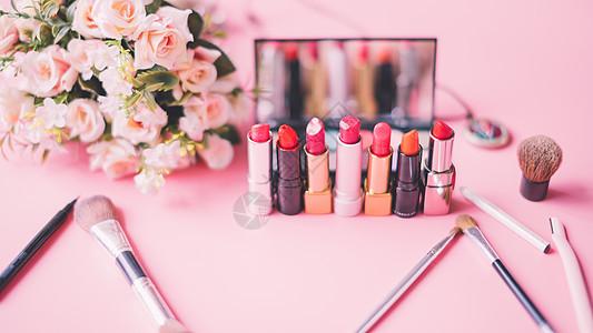 美妆口红化妆品图片