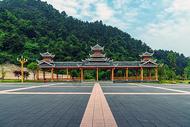 苗寨建筑广场图片
