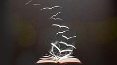 书畅想创意背景图片