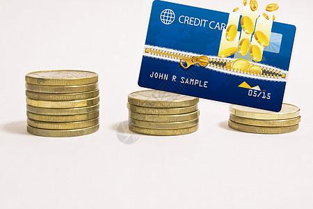 银行卡里的资金图片