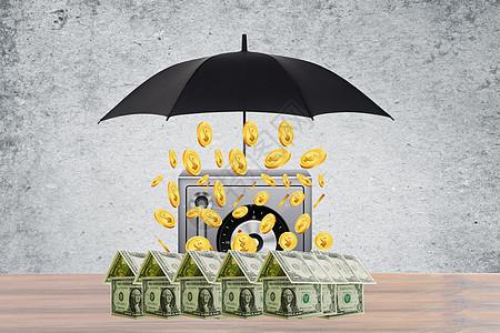 创意安全金融投资图片