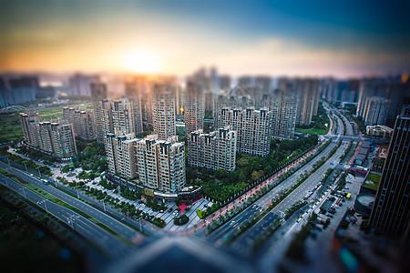 城市高楼建筑模型图片
