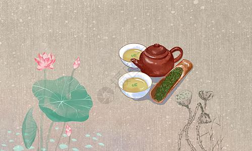中国风茶道图片