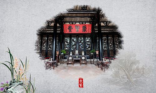 中式风格素材图片