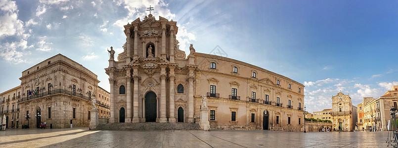 欧洲意大利建筑全景图片