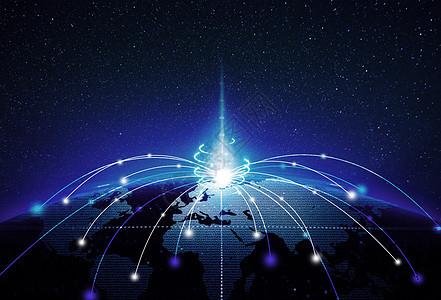 梦幻地球背景图片