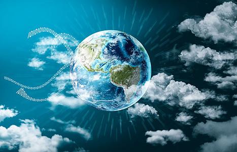 数字全球化图片