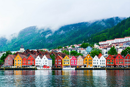盛夏的挪威风光图片