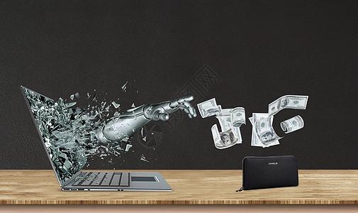 网络诈骗图片