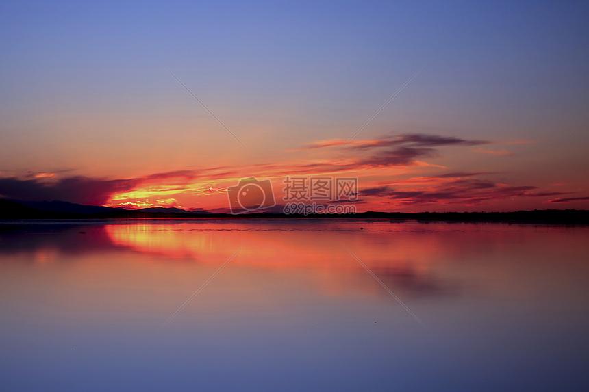 青海湖耳海日落摄影图片免费下载_自然/风景图库大全