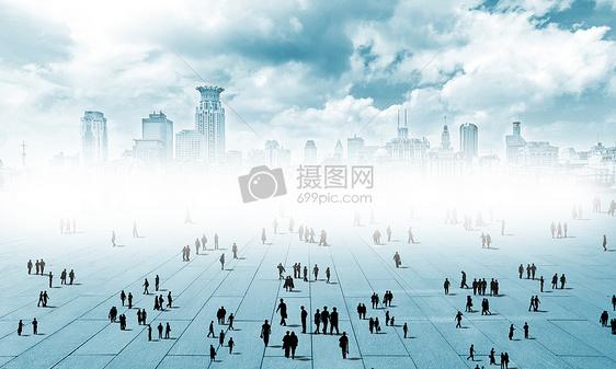 科技城市人图片