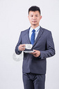 商务人像男性咖啡图片