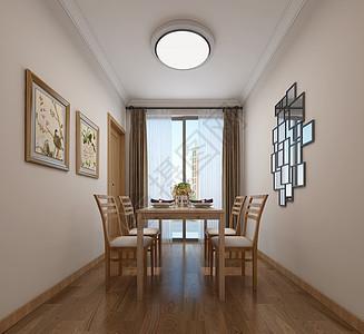 现代简约风餐厅室内设计效果图图片